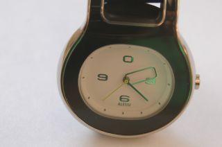 Alessi Damenuhr Armbanduhr Buckle Designed Von Patricia Urquiol Mit Lederarmband Bild