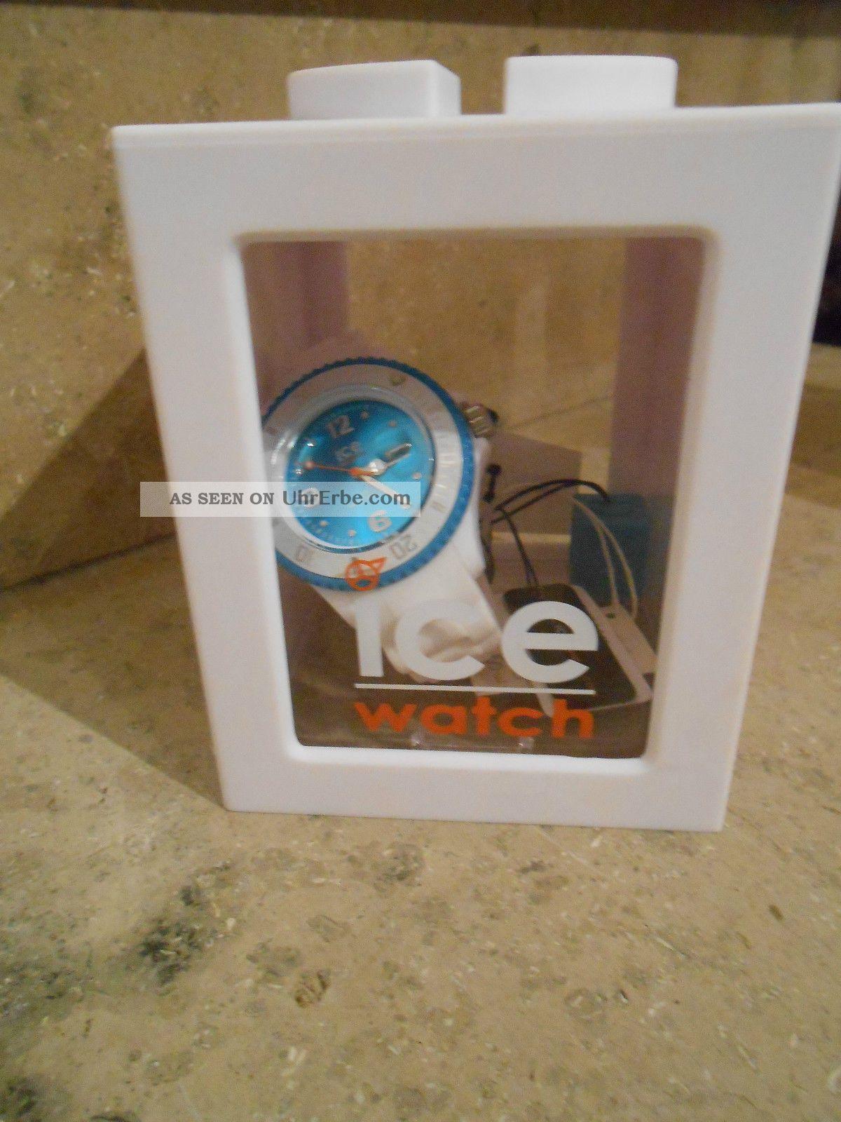 Ice Watch,  Weiß Türkis Armbanduhren Bild