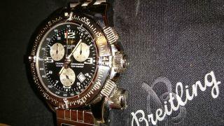 Breitling Emergency Mission M.  Utc Modul Pilot Armband Ref.  A73321 Bild