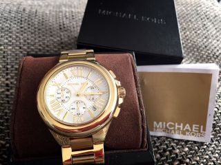Michael Kors Damen - Armbanduhr Xl Chronograph Mk5635 Ovp Bild