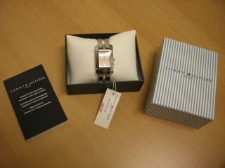 Tommy Hilfiger Uhr Damenuhr Armbanduhr Incl.  Geschenkkarton,  Wie, Bild