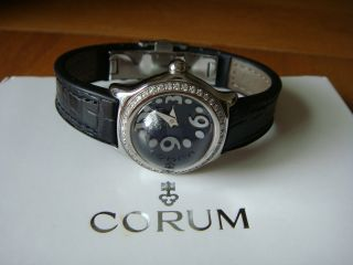 Corum Bubble Mini - Diamantbesatz - Box - Papiere Bild