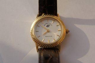 Beverly Hills Polo Club Damenuhr Uhr Elegance Lederarmband Weiss Bild