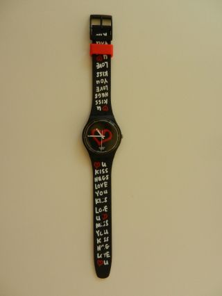 Swatch Specials Love Seconds.  Valentine Special 2010 - Gb246 - Selten Bild