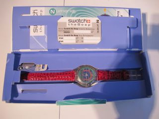 Swatch The Beep Armbanduhr Uhr Eurosignal Cityruf Sammlerstück Bild
