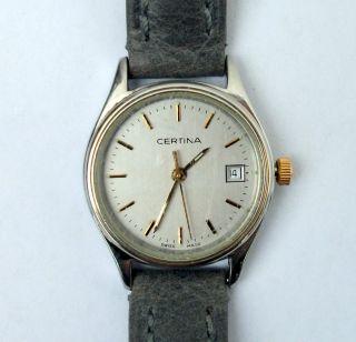 Certina 30 M Wasserdicht Damenuhr Armbanduhr Uhr Sammleruhr Bild