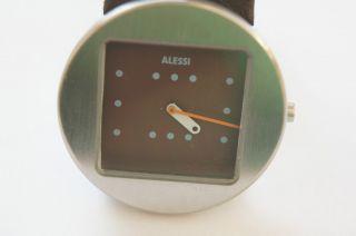 Alessi Damenuhr - Ontime Design By Jorge Pensi Lederarmband Bild