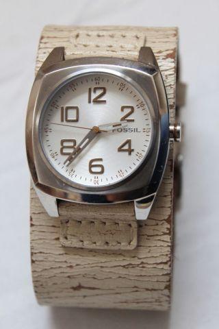 Fossil Damen Armbanduhr Jr 9653,  - Look Beige,  Wie Bild