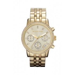 Michael Kors Mk5698 Damen Uhr Armbanduhr Uhr Edelstahl Gold Bild