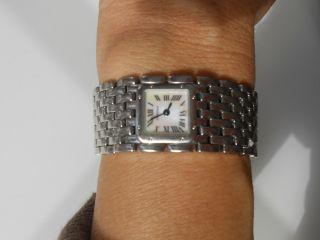 Cartier Armbanduhr Für Damen Le Ruban Edelstahl Bild
