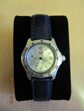 Tag Heuer We 1411 - R Damenuhr Ladys Watch Neuwertiger Bild