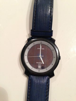 Junghans Phoenix Solar Uhr Ref.  : 14/4710 Quartz Sammleruhr Bild