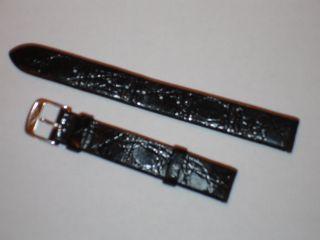 Kroko - Longines - Uhrarmband 13mm Breit Bild