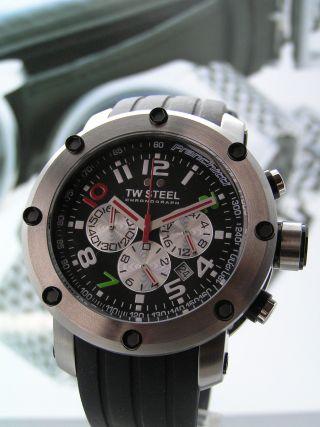 Tw Steel Grandeur Tech Dario Franchitti Chronograph - Tw607 - Uvp 579 Bild