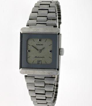 Vintage Rado Swiss Diastar Automatik Datum Damen Armbanduhr Edelstahl - Box Bild