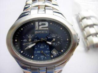 Orig.  Breil Uhr; Breil Bw0088 Damen - Chronograph; Damenuhr Edelstahl;selten Bild