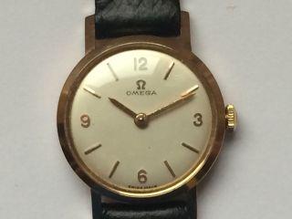 Schöne Omega (18k - 750er) (rotgold) Damen Mechanische Uhr Cal.  620 Bild