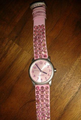 Esprit Süßeste Mädchen Armbanduhr Uhr Kinder Rosa Bild