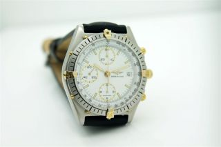 Breitling Chronomat,  Ref 81950,  Stahl/gold,  Eta 7750,  Saphirglas Bild