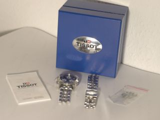Tissot Prs 200 Herren Armbanduhr T362/462 Chronograph Schwarz Bild