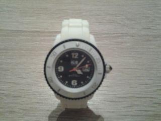 Ice Watch Neuwertig Weiß - Blau,  Geschenk Bild