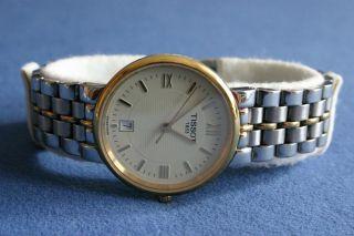 Tissot 1853 Uhr Gold T983 Sapphire Crystal Water Resistant 30 M Stainless Steel Bild