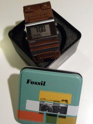 Fossil Herrenuhr Fossil Mlg 017 Bild