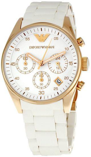 Emporio Armani Damen Chronograph Quarz Ar5920 Bild