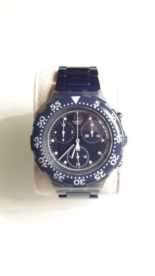 Swatch Taucheruhr,  Chronograph,  200m Wasserdicht,  42mm Bild
