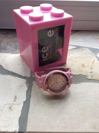 Org.  Ice Watch Uhr Pink Rosé Neuwertig Bild