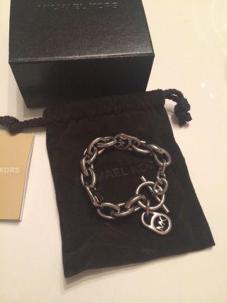 Michael Kors Armband,  Silber Mit Kaufbeleg,  99€ Weihnachtsgeschenk Bild