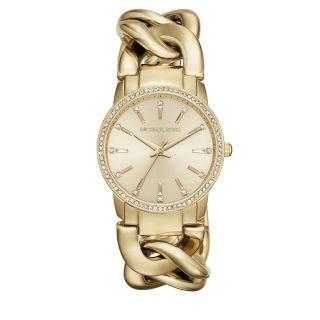Michael Kors Mk3235 Damenuhr Vergoldet Armbanduhr Bild