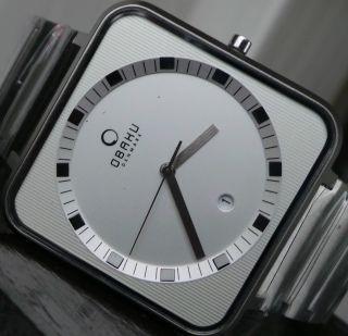 Hochwertige Ingersoll /obaku Herrenuhr,  Ein Traum In Silber Mit Datumum Bild