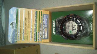 Casio Pro Trek Prw - 2500 - 1er Neuwertig Inkl Ovp Bild