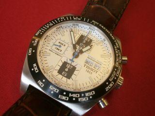 Tissot Prs 516 Automatik Chronograph Herrenuhr Valjoux 7750