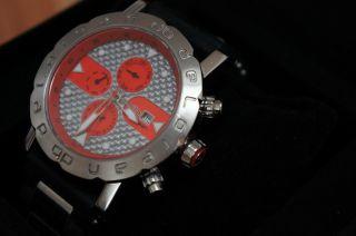 Sportliche Seltene Delorean Automatikuhr Dl05 - 5003sk Bild