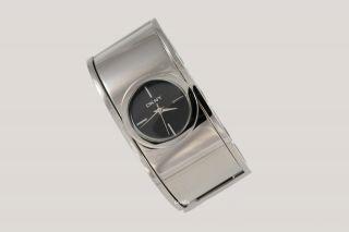 Dkny Donna Karan York Damenuhr / Damen Uhr Silber Spange Ny4953 Bild