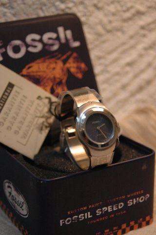 Fossil Uhr Damenuhr Steel With Diamond Originalverpackt Bild