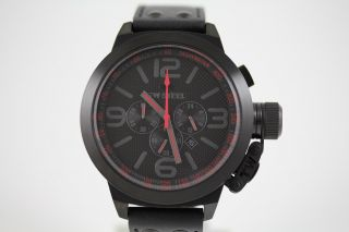 Tw Steel Uhr Herrenuhr Lederband Edelstahl Canteen Style Chronograph Tw903 Bild