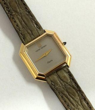 Schöne Michel Herbelin Paris Handaufzug Damen Armbanduhr,  Eta Werk Cal.  2512 - 1. Bild