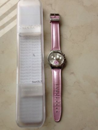 Swatch Ycs513 Time In Rose Bild