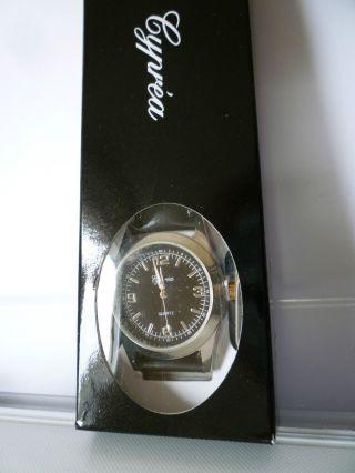 Cyprea Herrenuhr Armbanduhr Schwarz Bild