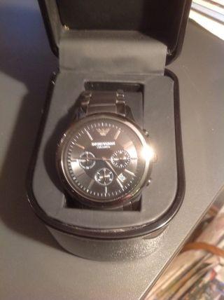 Armani Ar1451 Herrenuhr Chronograph Uhr Bild