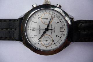 Armbanduhr / Mechanischer Poljot Chronograph / Handaufzug / 23 Jewels Bild
