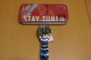 Herren Armbanduhr,  Fossil Blue Am - 3086,  Analog,  Verpackt In Blechdose Bild