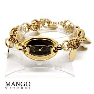 Mango - Armbanduhr - Uhr - Schmuck - Gold - Qm3617902 - Analog - Damen - Bild