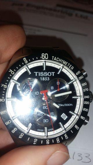 Tissot Chronograph Prs 516 Herrenuhr Uhr Edelstahl T 0444172104100 Wie Bild