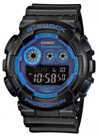 Casio Uhr G - Shock Herren - Sportuhr Gd - 120n - 1b2er Bild