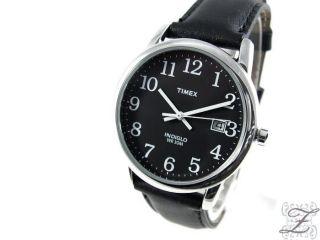 Timex Herrenuhr Indiglo Beleuchtung Lederarmband T2n370pk Herren Uhr Uhren Zorlu Bild