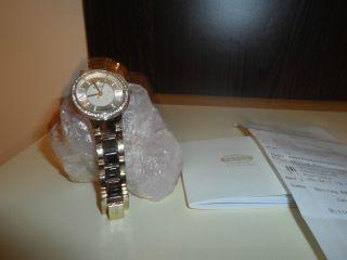 Fossil Uhr Braun Gold Mit Steinchen Noch 1 Jahr Bild